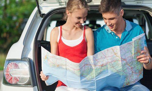 Use your debit card for your car rental in Santorini !