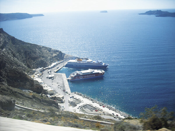 SANTORINI PORT CAR RENTAL 1