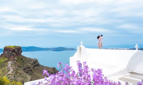 Get around in Santorini with a rental car on Clean Monday